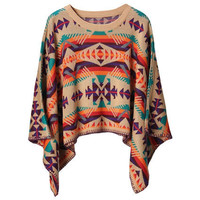 Nation Style Manual Colorful Jumper [NCSWA0007] - $49.99 :