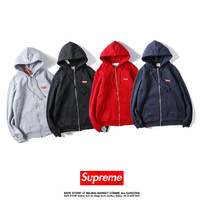 Supreme Hoodies Embroidery Jacket [9448823303]