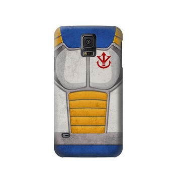P2813 Vintage Dragonball Z Vegeta Saiyan Armor Phone Case For Samsung Galaxy S5