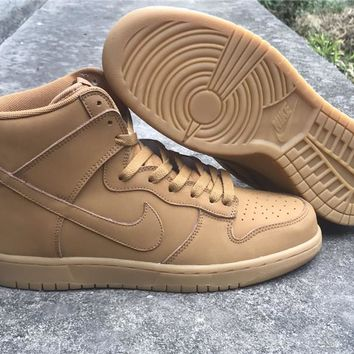 Nike Dunk High Premium Wheat 886070-200 Sneaker Size 36---45