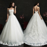 Strapless Ivory Bridal Wedding Dress Bridal Gown Custom Size 2 4 6 8 10 12 14 16