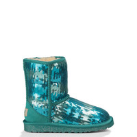 UGG® Official | Kids' Classic Short Sparkle Wave Footwear | UGGAustralia.com