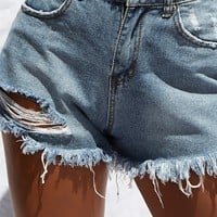 This Love Denim Shorts