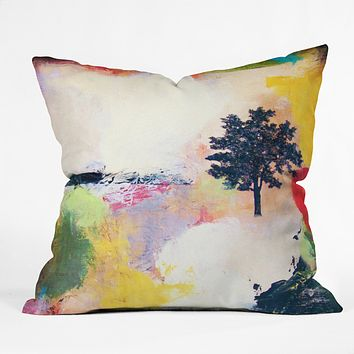 Natalie Baca Emerge Throw Pillow