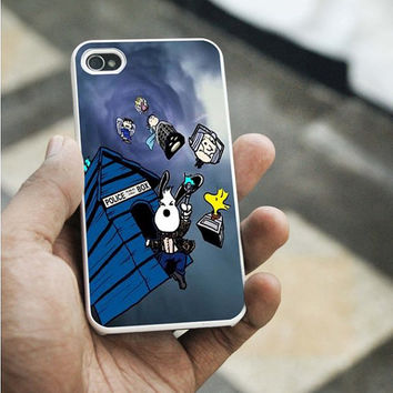 snoopy tardis doctor who iPhone 5C case,iPhone 5S case,iphone 5 case,iphone 4 case,iphone 4S  case,Samsung s3 case,samsung s4 case