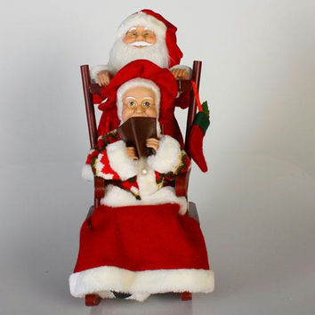 Christmas Decoration - Santa And Mrs. Claus
