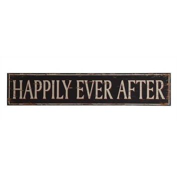 Happily Ever After -- Extra Large Wall Decor 50-in