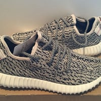 new Mens Adidas Yeezy Boost 350 low Kanye West cool gray Turtle Dove