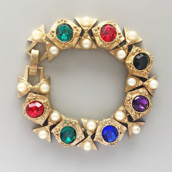 Parisian Jewels Bracelet - Vintage from Paris