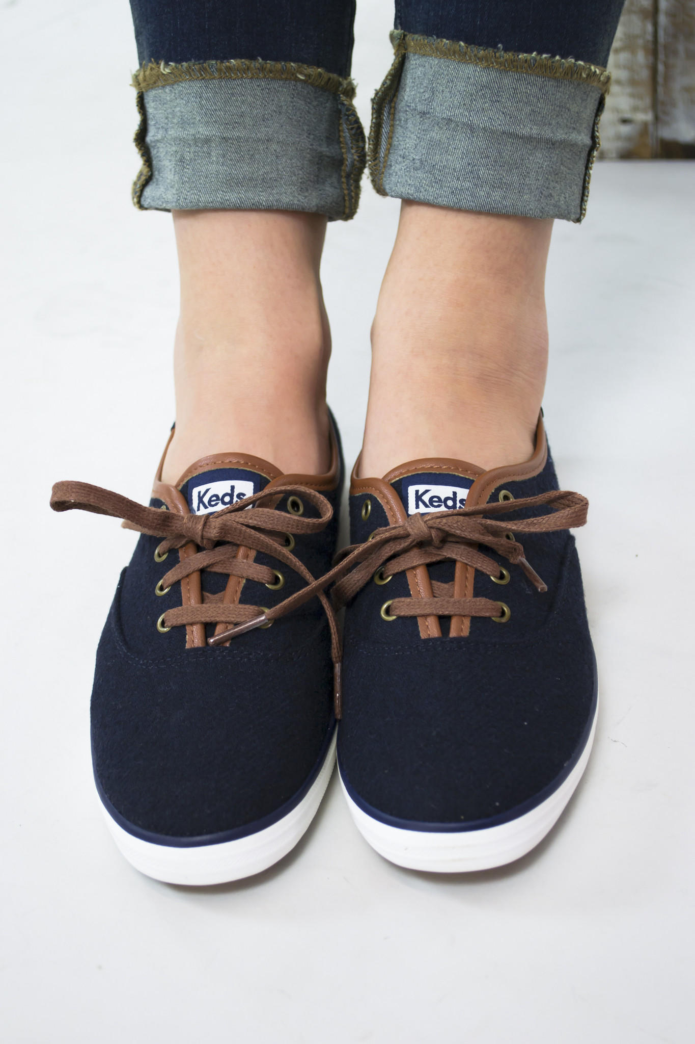 58691d45027a Champion Wool Lace Up Keds from Siloe Boutique
