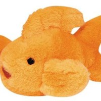 Multipet Look Who's Talking Goldfish Plush Dog Toy