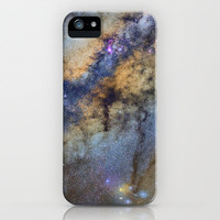The Milky Way and constellations Scorpius, Sagittarius and the superbig star Antares. iPhone Case by Guido Montañés | Society6