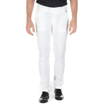 Corneliani Mens Pants White