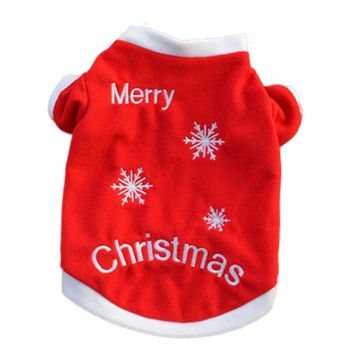 Christmas Pet Puppy Autumn Winter Warm