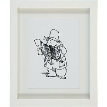 Paddington Reading Wall Art 27x33cm