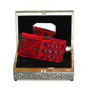 Tribal Banjara Wallet, Gypsy Banjara Clutch, Vintage Banjara Girl's Wallet, Handmade Clutch Bag