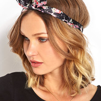 Cherry Blossom Bow Headwrap