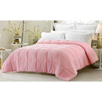 Super Oversized-High Quality Down Alternative Comforter-Pink