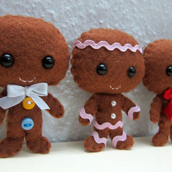 Gingerbread Man PDF Pattern -Instant Digital Download