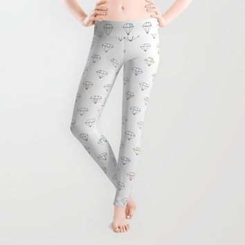 Diamonds In The Sky Leggings by All Is One