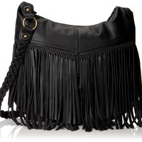 Steve Madden Bpeperr LG Cross Body,Black,One Size:Amazon:Shoes