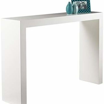 Sunpan 89586 Ikon Console Tables, White