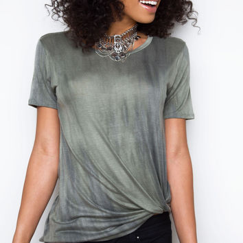 Right For Me Top - Olive