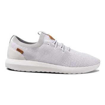 Reef Cruiser Knit-Wht/Sil