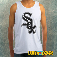 Chicago White Sox Logo Clothing Tank Top For Mens