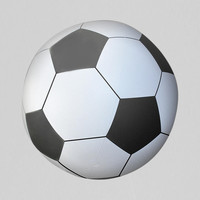 Oversized Inflatable Soccer Ball