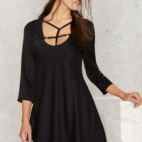 Nasty Gal Michaela Strappy Dress