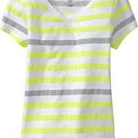 Girls V-Neck Tees