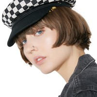 Exclusive Checkered Toni Hat
