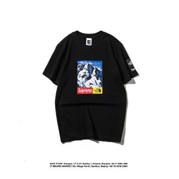 Cheap Women's and men's supreme t shirt for sale 85902898_0026