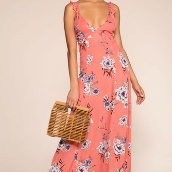 Dream Away Maxi Dress - Mauve