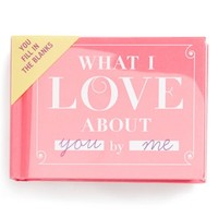 Knock Knock 'What I Love About You' Journal