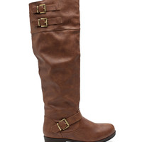 Jasmine 10 Hi Lo Over The Knee Boot