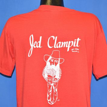 80s Jed Clampit Folk Musician t-shirt Large