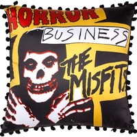 Misfits Horror Business Pillow by Sourpuss Clothing