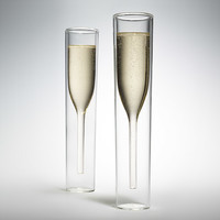 Inside Out Champagne Glasses | MoMA