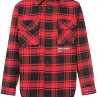 Red and Black Checker Flannel by OFF-WHITE