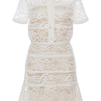 Cady and Lace Short Sleeve Dress | Moda Operandi