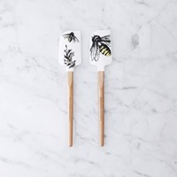 Mother's Day Honey Bee Mini Spatulas, Set of 2
