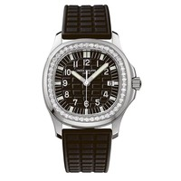Patek Philippe Ladies Aquanaut 35mm Stainless Steel Watch on Rubber Strap 5067A-001