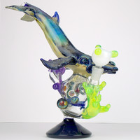 Humpback Whale Heady Glass Waterpipe