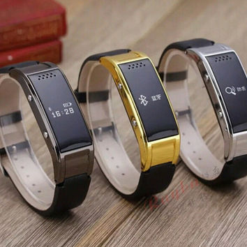 2016 Sport Bluetooth D8S Smart Bracelet Watch Sync Call SMS Anti-lost Health Wristband Sleep Monitor for men and women