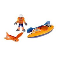 Fisher Price Imaginext Kayak & Figure Set