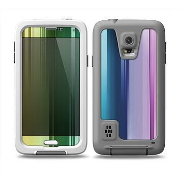 The Neon Horizontal Color Strips Skin Samsung Galaxy S5 frē LifeProof Case