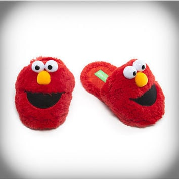 Elmo Adult Slippers