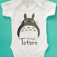 my totoro neighbor baby bodysuit . baby grow vest My Neighbour Totoro Baby Onesuits Mei Graphic Cute Baby Bodysuits